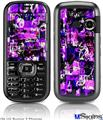 LG Rumor 2 Skin - Purple Graffiti