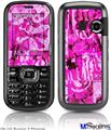 LG Rumor 2 Skin - Pink Plaid Graffiti
