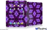 iPad Skin - Abstract Floral Purple