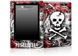 Skull Splatter - Decal Style Skin for Amazon Kindle DX
