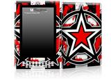 Star Checker Splatter - Decal Style Skin for Amazon Kindle DX