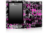 SceneKid Pink - Decal Style Skin for Amazon Kindle DX