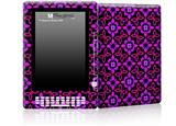 Pink Floral - Decal Style Skin for Amazon Kindle DX