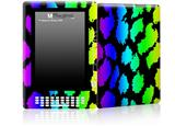 Rainbow Leopard - Decal Style Skin for Amazon Kindle DX