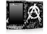 Anarchy - Decal Style Skin for Amazon Kindle DX