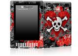 Emo Skull Bones - Decal Style Skin for Amazon Kindle DX
