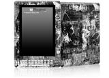 Graffiti Grunge Skull - Decal Style Skin for Amazon Kindle DX