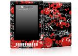 Emo Graffiti - Decal Style Skin for Amazon Kindle DX