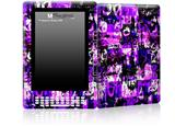 Purple Graffiti - Decal Style Skin for Amazon Kindle DX