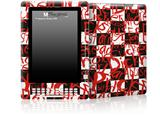 Insults - Decal Style Skin for Amazon Kindle DX