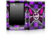 Butterfly Skull - Decal Style Skin for Amazon Kindle DX