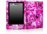 Pink Plaid Graffiti - Decal Style Skin for Amazon Kindle DX