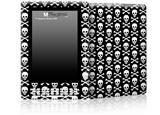 Skull and Crossbones Pattern - Decal Style Skin for Amazon Kindle DX