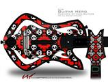 Goth Punk Skulls Decal Style Skin - fits Warriors Of Rock Guitar Hero Guitar (GUITAR NOT INCLUDED)