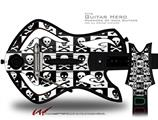 Skull Checkerboard Decal Style Skin - fits Warriors Of Rock Guitar Hero Guitar (GUITAR NOT INCLUDED)