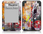 Abstract Graffiti - Decal Style Skin fits Amazon Kindle 3 Keyboard (with 6 inch display)