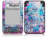 Graffiti Splatter - Decal Style Skin fits Amazon Kindle 3 Keyboard (with 6 inch display)