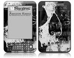 Urban Skull - Decal Style Skin fits Amazon Kindle 3 Keyboard (with 6 inch display)