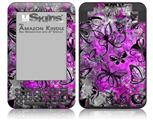 Butterfly Graffiti - Decal Style Skin fits Amazon Kindle 3 Keyboard (with 6 inch display)