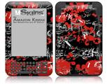 Emo Graffiti - Decal Style Skin fits Amazon Kindle 3 Keyboard (with 6 inch display)