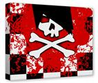 Gallery Wrapped 11x14x1.5  Canvas Art - Emo Skull 5