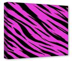 Gallery Wrapped 11x14x1.5  Canvas Art - Pink Tiger