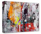 Gallery Wrapped 11x14x1.5  Canvas Art - Abstract Graffiti