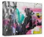 Gallery Wrapped 11x14x1.5  Canvas Art - Graffiti Grunge