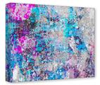 Gallery Wrapped 11x14x1.5  Canvas Art - Graffiti Splatter