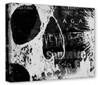 Gallery Wrapped 11x14x1.5 Canvas Art - Urban Skull