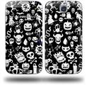 Monsters - Decal Style Skin (fits Samsung Galaxy S IV S4)