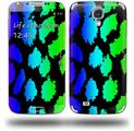 Rainbow Leopard - Decal Style Skin (fits Samsung Galaxy S IV S4)