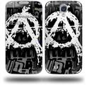 Anarchy - Decal Style Skin (fits Samsung Galaxy S IV S4)