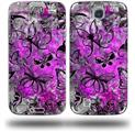 Butterfly Graffiti - Decal Style Skin (fits Samsung Galaxy S IV S4)