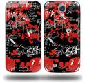 Emo Graffiti - Decal Style Skin (fits Samsung Galaxy S IV S4)