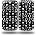 Skull and Crossbones Pattern - Decal Style Skin (fits Samsung Galaxy S IV S4)